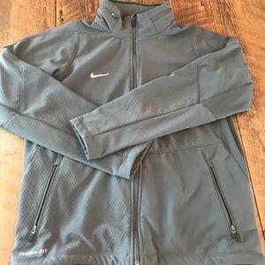 Men's Nike Hybrid Sphere Therma Jacket Large Grey